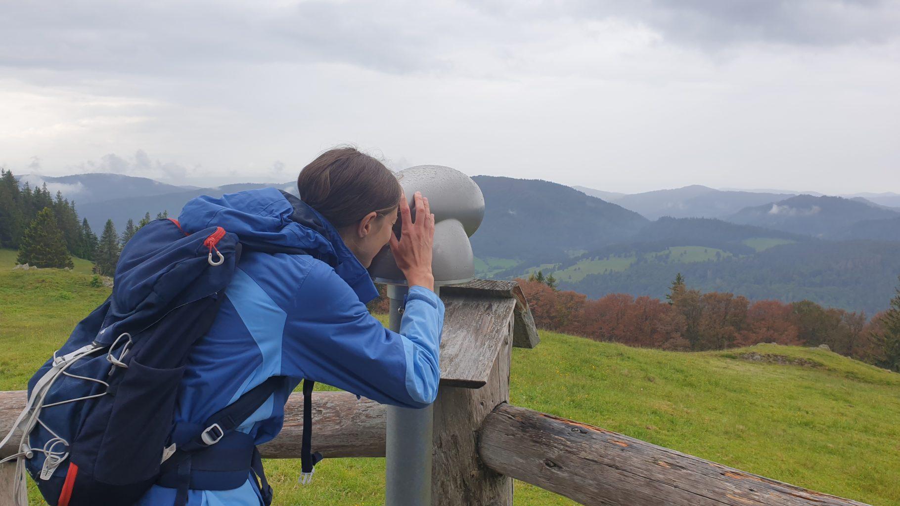 Bei Sonne bietet das Spießhorn am Bernauer Hochtal Steig sicherlich tolle Fernsichten