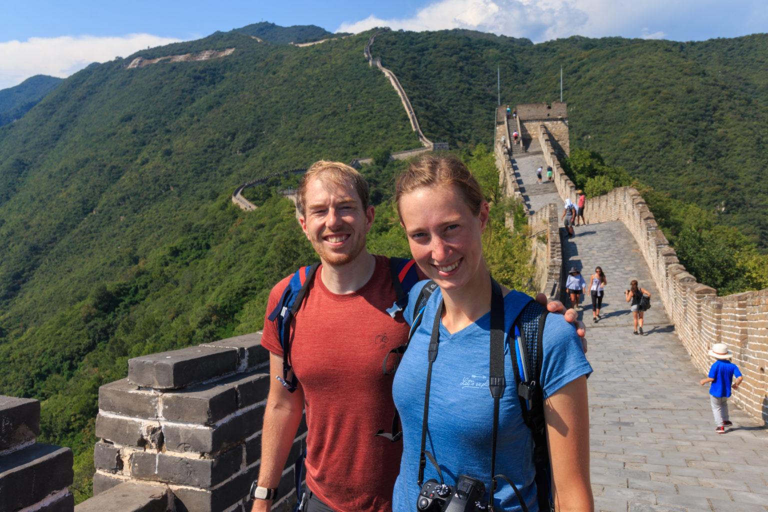 Abschnitt Mutianyu auf der Chinesischen Mauer