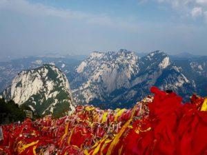 Hua Shan Gebirge (bei Xian, China)