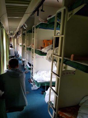 Hard Sleeper Waggon in China