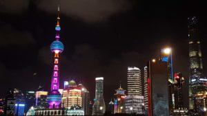 Shanghai Bund in China