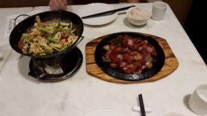 Abendessen in Shanghai