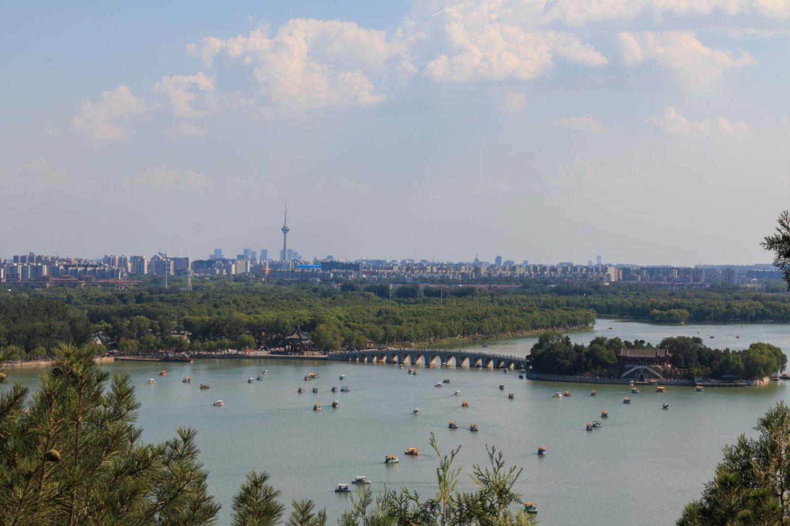 Neuer Sommerpalast, Kunming-See (Peking, China)