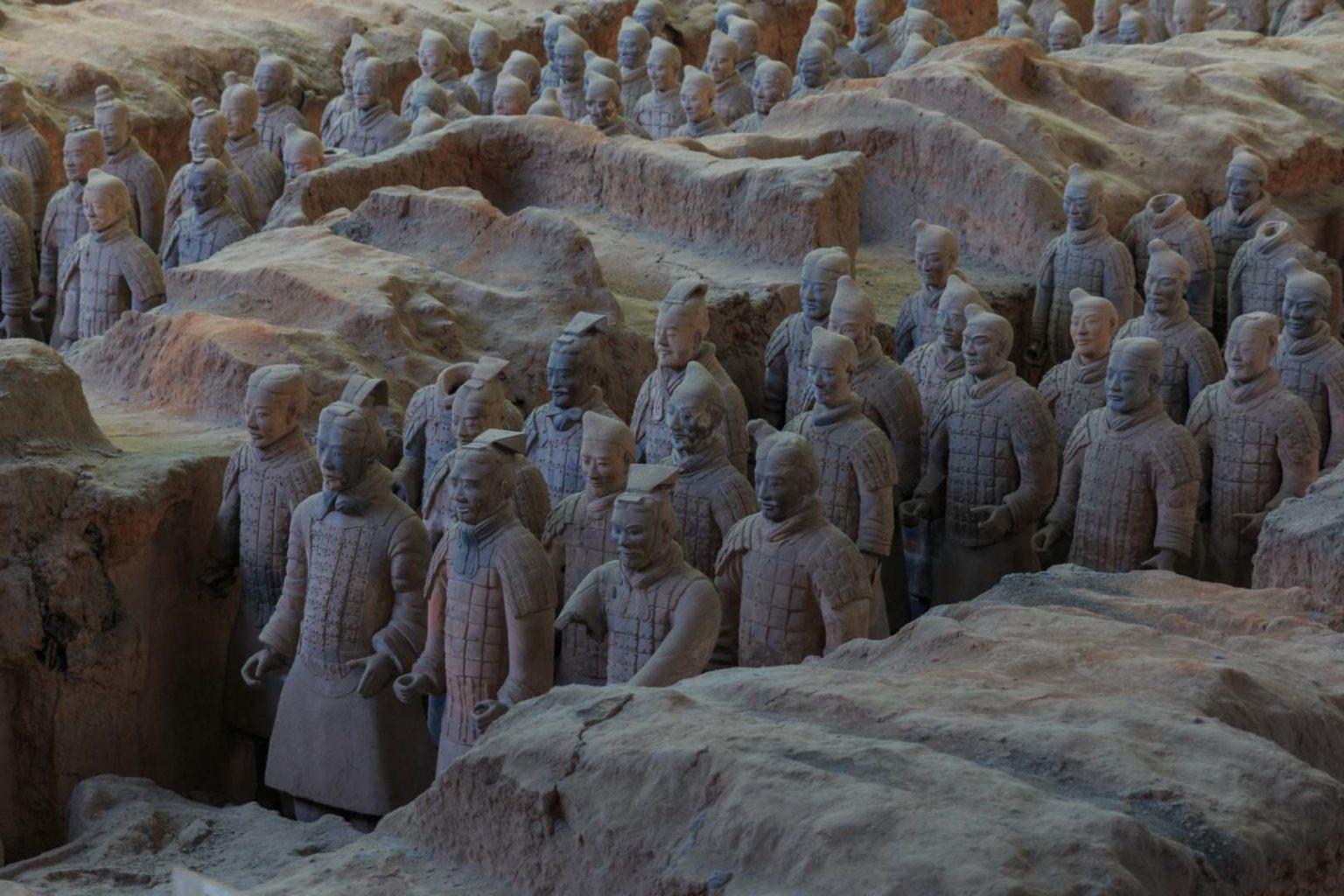 Terrakottaarmee (Xian, China)