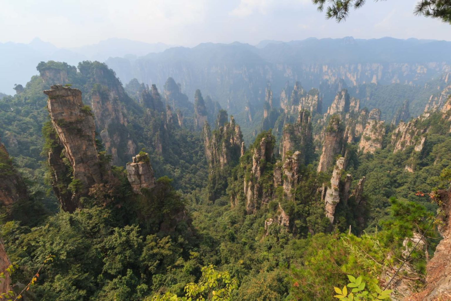 Zhangjiaje Nationalpark in China