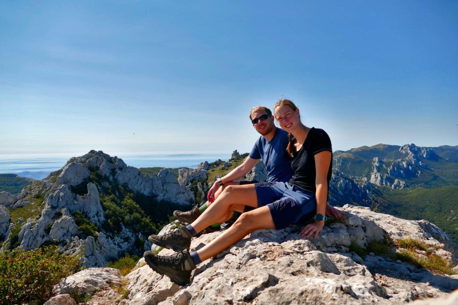 Gipfel Grabar im Velebit