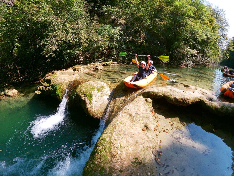 Kayaking Abenteuer auf der Mreznica