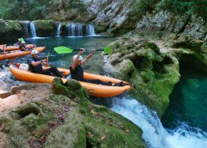 Kayaking Mreznica