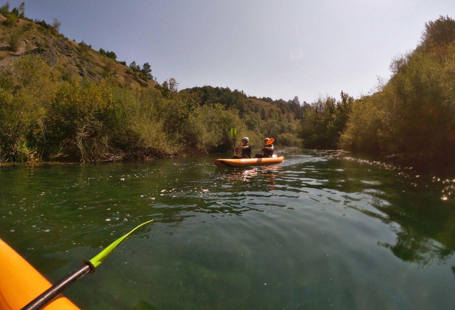 Kayaking / Kajak Tour auf der Mreznica