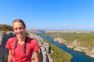 Aussichtspunkt Rogovo im Krka Nationalpark