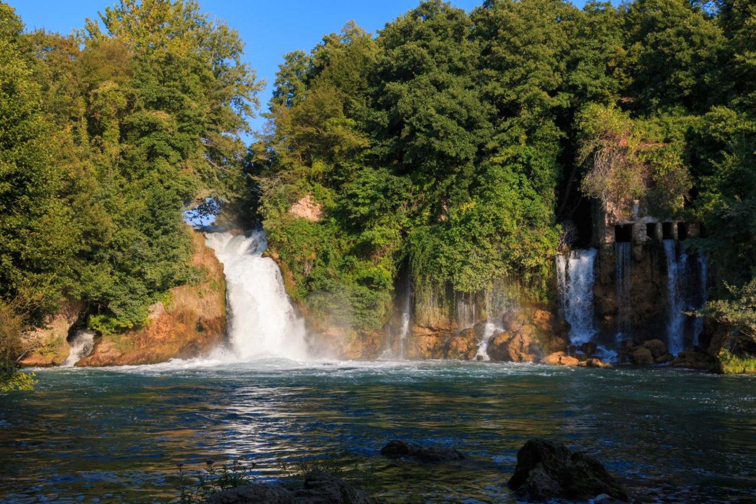 Bilusica Buk des Krka Nationalpark
