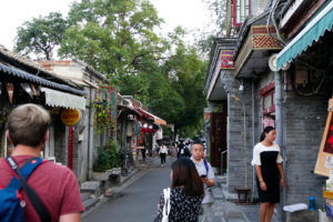 im Hutong in Peking