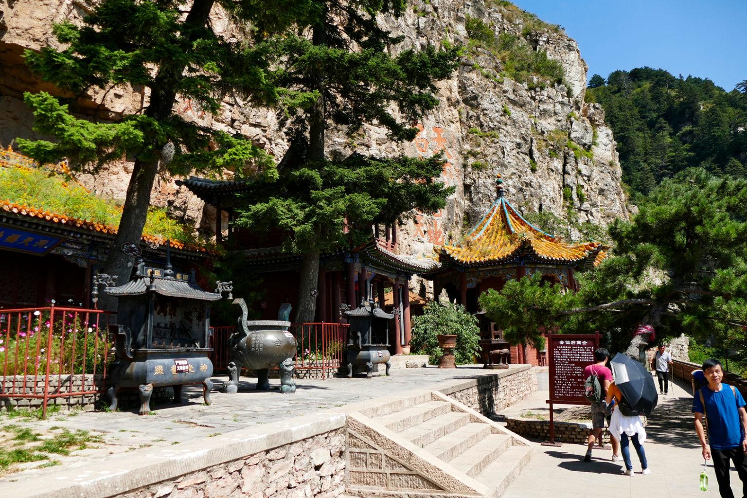 Tempel im Heng Shan Gebirge