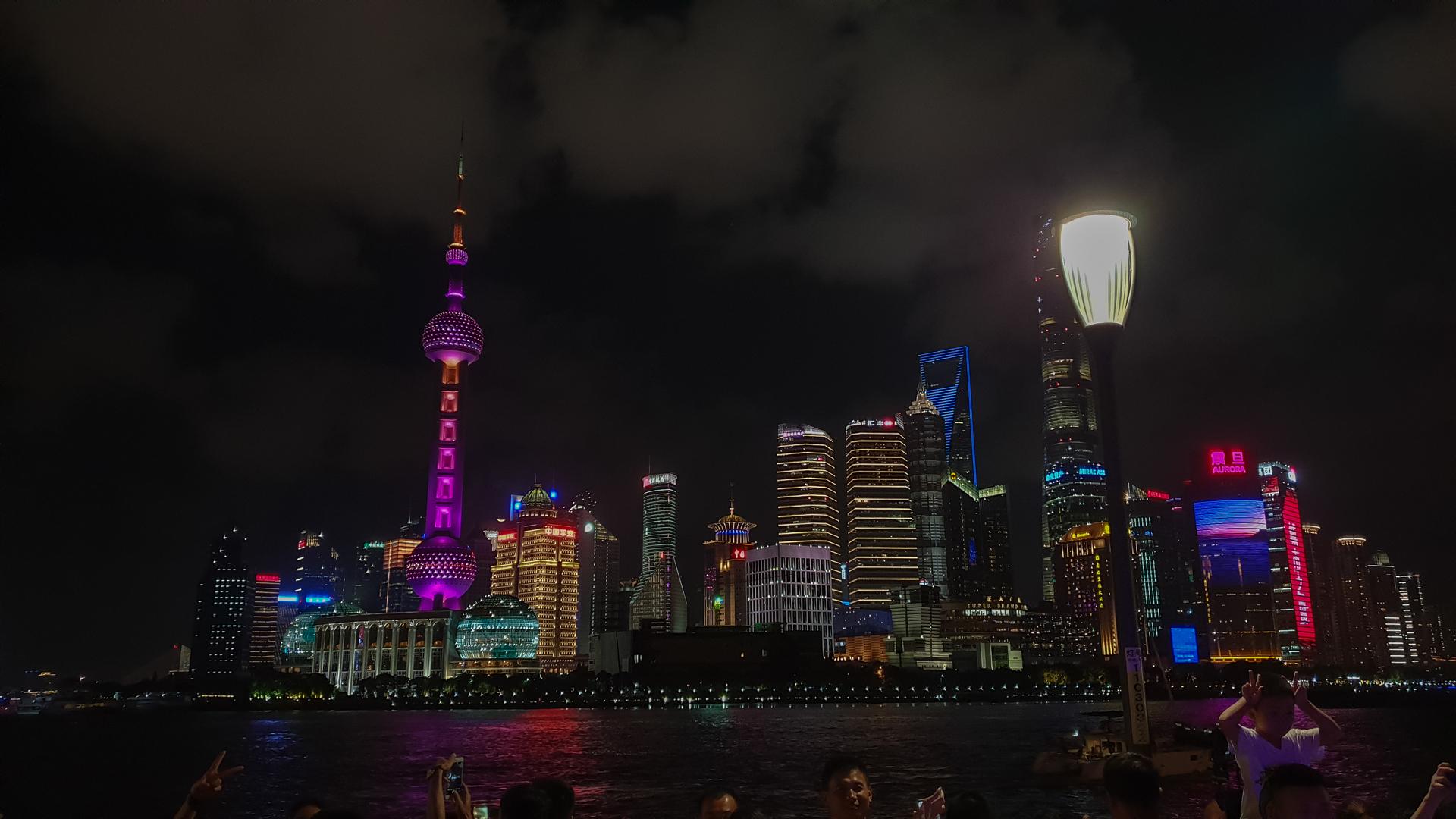 Skyline Pudong, Blick vom Bund