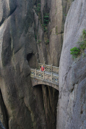 Fairy-Walking-Bridge im Huang Shan