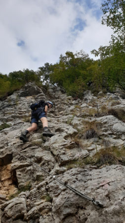 im Gerardo Sega Klettersteig