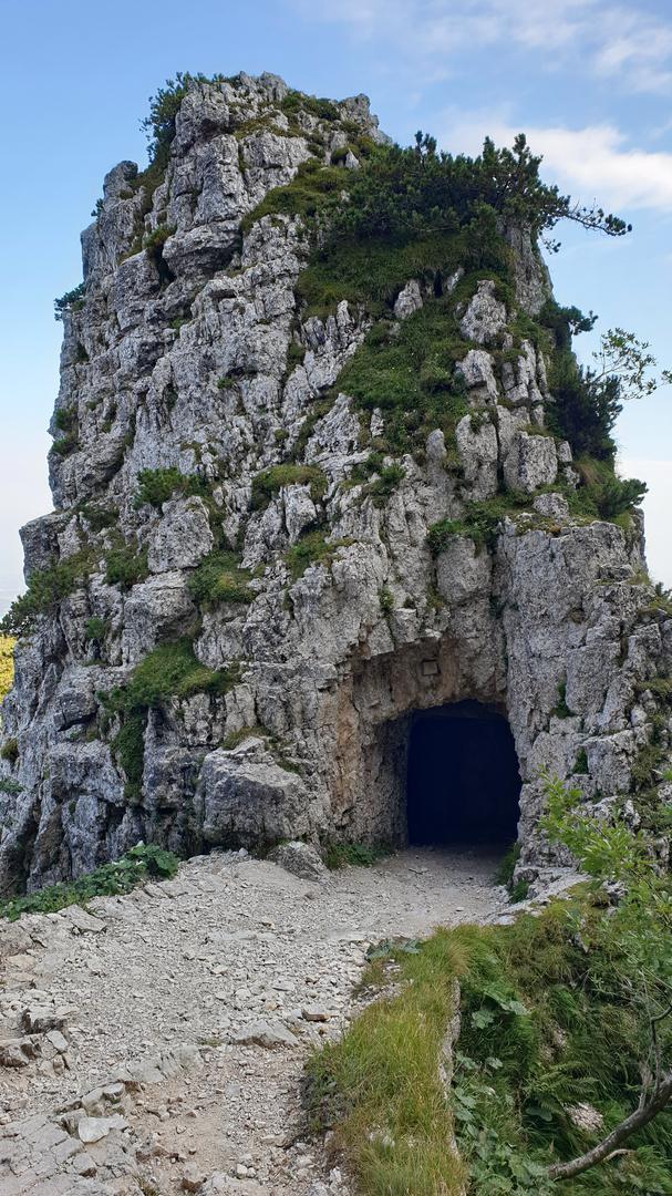 Tunnel Nr. 19 auf der Strada delle 52 Gallerie
