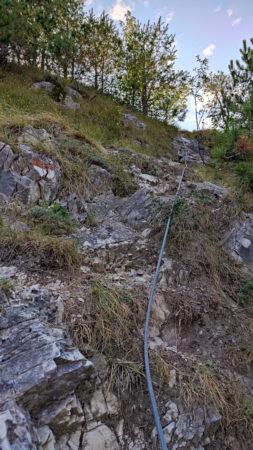 Abstieg vom Monte Bestone nach Limone