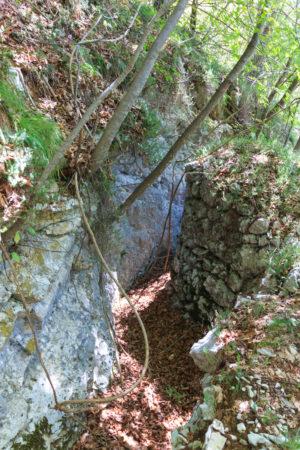 Schützengraben am Gardasee