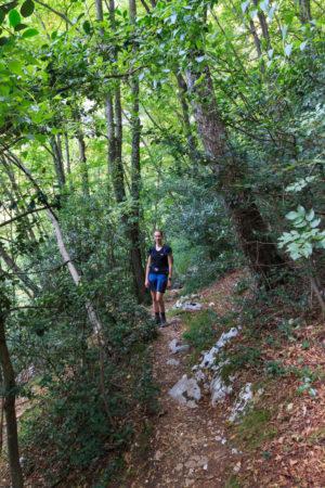 Weg zum Gerardo Sega Klettersteig