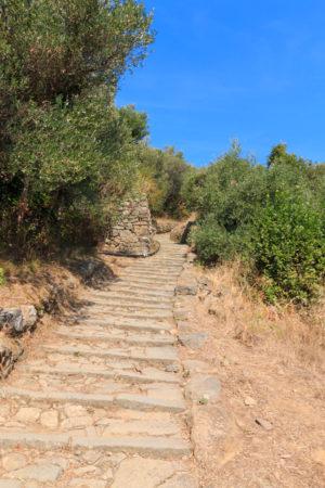 von Manarola über unzählige Treppen nach Volastra