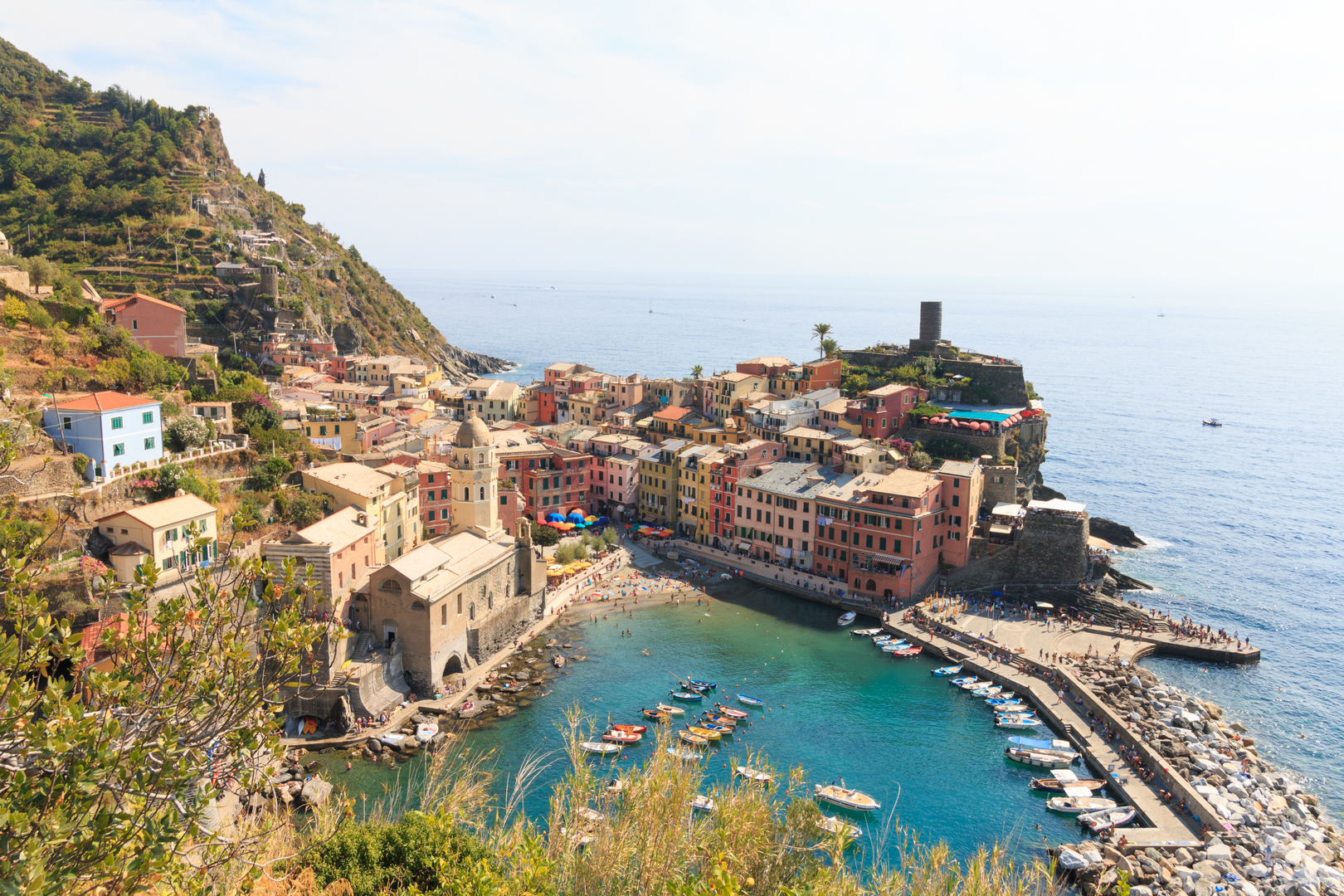 Cinque Terre, Blick auf Vernazza