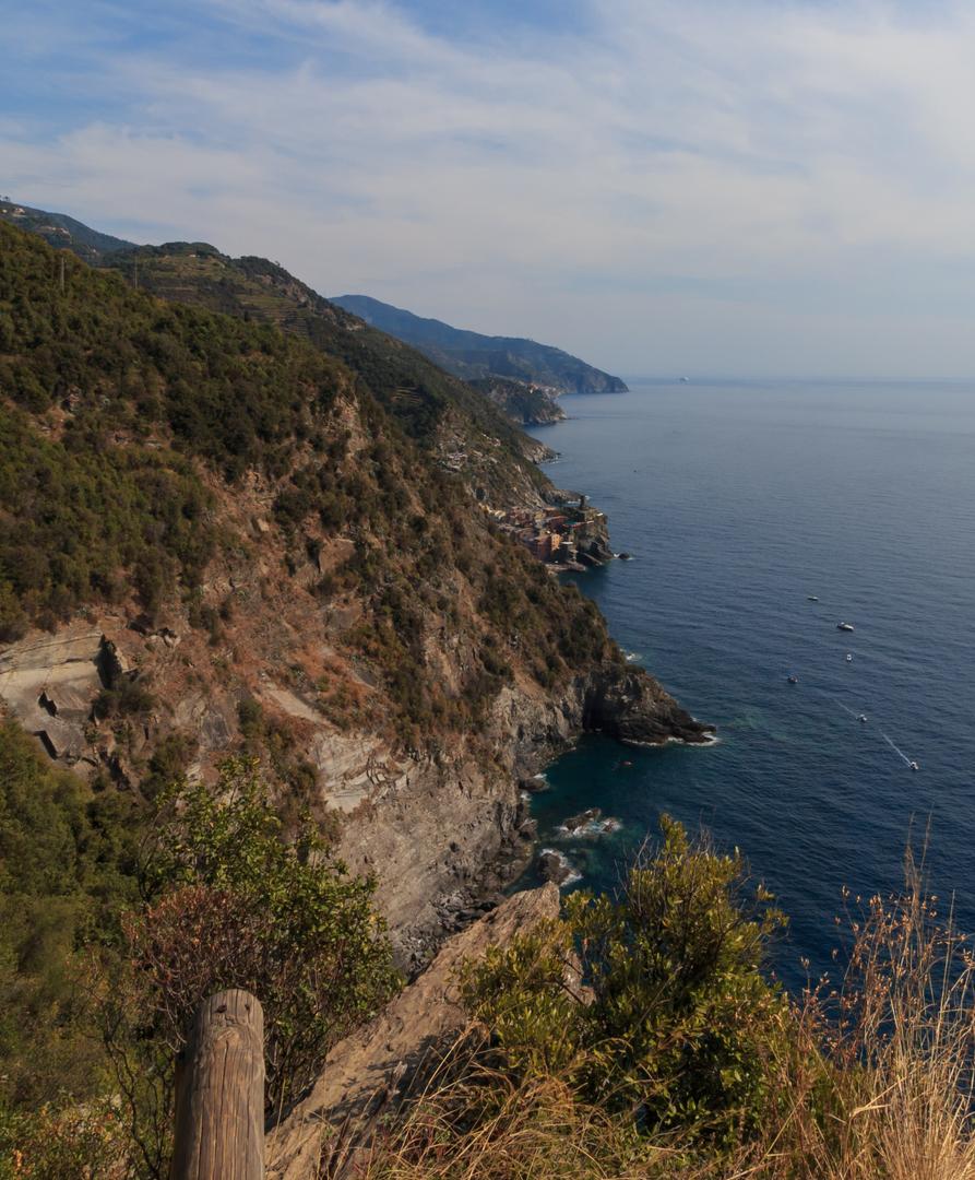 Blick auf die Cinque Terre