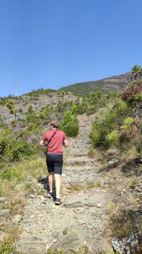 Weg nach Bonassola
